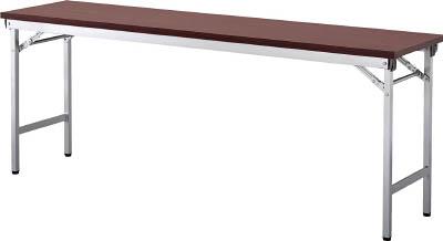 【取寄】【アイリスチトセ】アイリスチトセ 折畳みテーブルOTN 棚無し1845サイズ ローズ OTN1845RO[アイリスチトセ 事務用家具オフィス住設用品オフィス家具会議用テーブル]【TN】【TC】