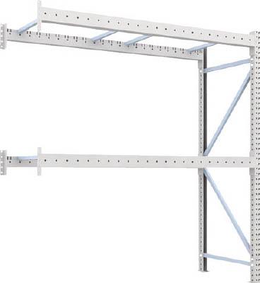 【取寄】【TRUSCO】TRUSCO 重量パレット棚2トン2300×900×H2500連結 2段 2D25B23092B[TRUSCO パレットラック物流保管用品物品棚パレットラック]【TN】【TC】