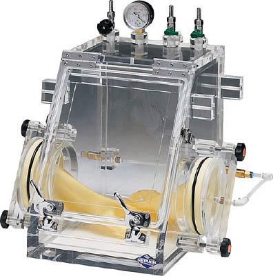 【取寄】【サンプラ】サンプラ グローブボックスコンパクト バキュームタイプ VG-C型 25400[サンプラ 機器研究管理用品研究機器実験台]【TN】【TC】