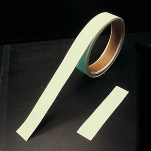 【緑十字】緑十字 BBA-5010 高輝度蓄光青色テープ 50mm幅×10m 189501[緑十字 安全標識環境安全用品テープ用品蓄光テープ]【TN】【TC】
