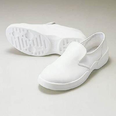 【ゴールドウイン】ゴールドウイン 静電安全靴クリーンシューズ ホワイト 24.0cm PA9880W24.0[ゴールドウイン ウェア研究管理用品理化学・クリーンルーム用品クリーンルーム用シューズ]【TN】【TC】