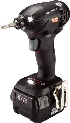 【MAX】MAX 14.4V充電式インパクトドライバ ブラック PJID144KB2C40A[MAX 電動工具作業用品電動工具・油圧工具インパクトドライバー]【TN】【TC】