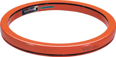 【取寄】【タイユー】タイユー 回転台マワール ライトタイプ オレンジ 1600kg 直径1350mm PTL135[タイユー 回転台物流保管用品コンテナ・パレットパレット]【TN】【TC】