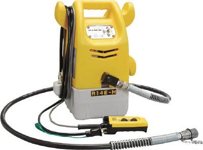 【泉】泉 電動リモコン式油圧ポンプ R14EH[泉 電設機器作業用品電設工具油圧式圧着工具]【TN】【TD】