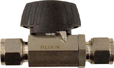 【フジキン】フジキン ステンレス鋼製3.92MPaパワフル継手付ボール弁 PUBV9412[フジキン バルブ工事用品管工機材バルブ]【TN】【TC】