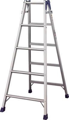 【ハセガワ】ハセガワ アルミはしご兼用脚立 標準タイプ RD型 5段 RD15[ハセガワ 脚立工事用品はしご・脚立脚立]【TN】【TC】