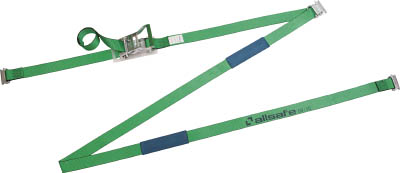 【allsafe】allsafe ベルト荷締機 リターン式T-ワンピース付きラッシングベルト R5TP1R[allsafe 荷締機工事用品吊りクランプ・スリング・荷締機荷締機]【TN】【TC】