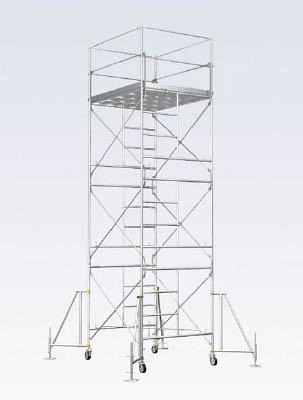 【取寄】【アルインコ】アルインコ ローリングタワー3段 RT3FXZ[アルインコ ローリングタワー工事用品はしご・脚立高所作業台]【TN】【TC】