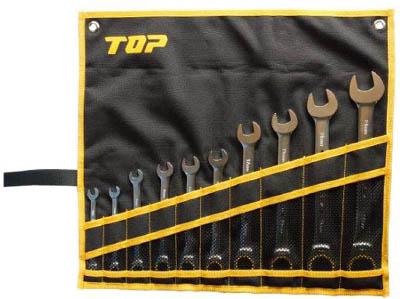 【TOP】TOP ラチェットコンビセット RCW10000S[TOP レンチ作業用品レンチ・スパナ・プーラーラチェットレンチ]【TN】【TC】