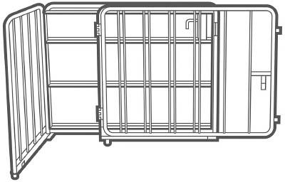 【取寄】【トヨトミ】トヨトミ 大型ストーブ用ガード SG20A[トヨトミ ストーブオフィス住設用品防災・防犯用品ライフライン対策用品]【TN】【TC】