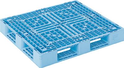 【取寄】【サンコー】サンコー プラスチックパレット D4ー1112ー3 青 SKD411123BL[サンコー パレット物流保管用品コンテナ・パレットパレット]【TN】【TC】