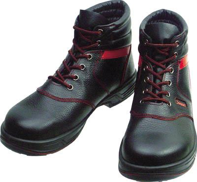 【シモン】シモン 安全靴 編上靴 SL22-R黒/赤 26.0cm SL22R26.0[シモン 靴環境安全用品安全靴・作業靴安全靴]【D】