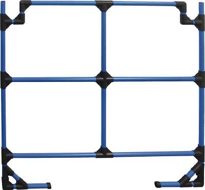 【取寄】【スペーシア】スペ-シア カラーフェンス1200(ブルー) SPSF1200CB[スペーシア パイプ物流保管用品作業台パイプシステム式作業台]【TN】【TC】