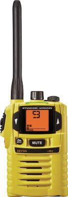 【スタンダード】スタンダード 特定小電力トランシーバー SR70AY[スタンダード 無線機環境安全用品安全用品トランシーバー]【TN】【TC】
