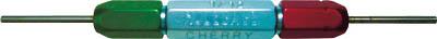 【Cherry】CHERRY GO/NO-GO ゲージ T1724[Cherry エアーリベット生産加工用品ファスニングツールリベッター]【TN】【TC】