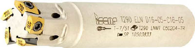 【イスカル】イスカル X その他ミーリング/カッター T290ELND1604C1605[イスカル ホルダーX切削工具旋削・フライス加工工具ホルダー]【TN】【TC】