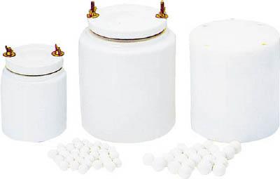 【取寄】【日陶】日陶 アルミナポットミル T-180 T180[日陶 乳鉢研究管理用品研究機器粉砕機器]【TN】【TC】