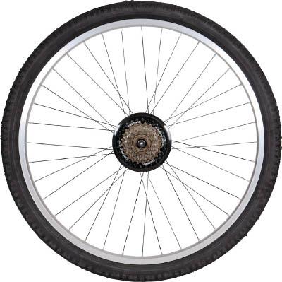 【TRUSCO】TRUSCO THR-5526用 ノーパンクタイヤ 後輪 THR26TIRER[TRUSCO 自転車 パーツ物流保管用品運搬車輌機器自転車]【TN】【TC】
