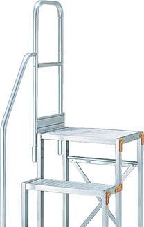 【TRUSCO】TRUSCO 作業用踏台用手すり H1100 階段片手すり TSF-257用 TSFTE1811H[TRUSCO 脚立           工事用品はしご・脚立作業用踏台]【TN】【TC】