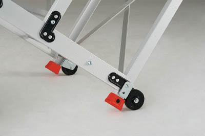 【TRUSCO】TRUSCO 5段アルミ作業用踏台背面キャスター 2個1セット TSFHC2[TRUSCO PI踏台 パーツ工事用品はしご・脚立作業用踏台]【TN】【TC】