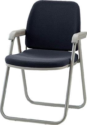 【取寄】【ノーリツ】ノーリツ 高級折りたたみチェア ブラック TYW2ACNBK[ノーリツ 椅子オフィス住設用品オフィス家具会議用チェア]【TN】【TD】