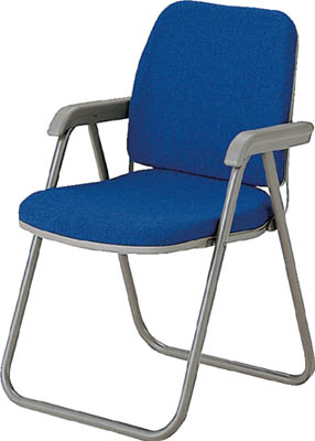【取寄】【ノーリツ】ノーリツ 高級折りたたみチェア ブルー TYW2ACNBL[ノーリツ 椅子オフィス住設用品オフィス家具会議用チェア]【TN】【TD】