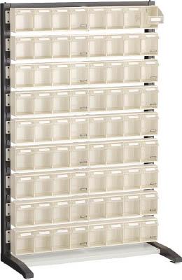【TRUSCO】TRUSCO UPRラック片面 H1450 ポケットケース付 UPRL1409E[TRUSCO ラック物流保管用品工場用保管設備パネルラック]【TN】【TC】