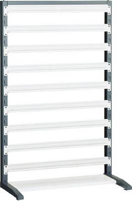【TRUSCO】TRUSCO UPRラック片面 H1450 棚受9個付 UPRL1409[TRUSCO ラック物流保管用品工場用保管設備パネルラック]【TN】【TC】
