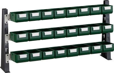 【TRUSCO】TRUSCO UPR型ライトビンラック卓上用 K-10GX24個 UPRML1803G[TRUSCO ラック物流保管用品工場用保管設備パネルラック]【TN】【TC】