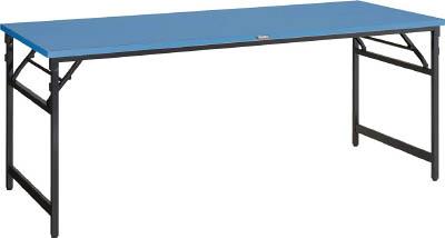 【取寄】【TRUSCO】TRUSCO UFM型折畳式作業台1500×750×740 UFM1575[TRUSCO SA作業台物流保管用品作業台折りたたみ式作業台]【TN】【TD】