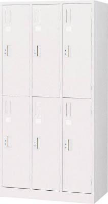 【取寄】【TRUSCO】TRUSCO スタンダードロッカー 6人用 900X515XH1790 W色 WL67[TRUSCO ALロッカーオフィス住設用品オフィス家具ロッカー]【TN】【TC】