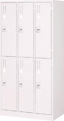 【取寄】【TRUSCO】TRUSCO 手ぶらキーロッカー 6人用 900X515XH1790 W色 WKL67[TRUSCO ALロッカーオフィス住設用品オフィス家具ロッカー]【TN】【TC】