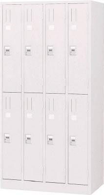 【取寄】【TRUSCO】TRUSCO 手ぶらキーロッカー 8人用 900X515XH1790 W色 WKL87[TRUSCO ALロッカーオフィス住設用品オフィス家具ロッカー]【TN】【TC】