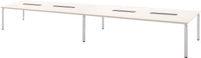 【取寄】【ナイキ】ナイキ ミーティングテーブル WK48125HSVH[ナイキ 机Nオフィス住設用品オフィス家具会議用テーブル]【TN】【TC】