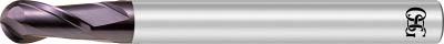 【OSG】OSG 超硬エンドミル WX 2刃ボール R5 WXEBDR5[OSG 超硬エンドミルA切削工具旋削・フライス加工工具超硬ボールエンドミル]【TN】【TC】