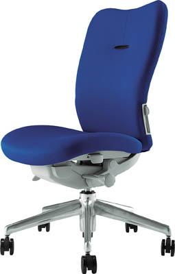 【取寄】【ナイキ】ナイキ ミドルバックチェアー 「エネア」 肘なし 布 ブルー ZE510FBL[ナイキ 椅子オフィス住設用品オフィス家具オフィスチェア]【TN】【TC】