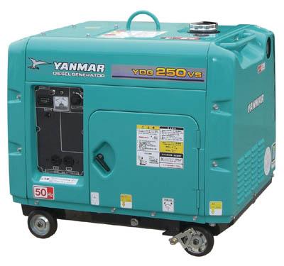 【取寄】【ヤンマー】ヤンマー 空冷ディーゼル発電機 YDG500VS6E[ヤンマー 発電機工事用品発電機・コンプレッサーディーゼル発電機]【TN】【TD】
