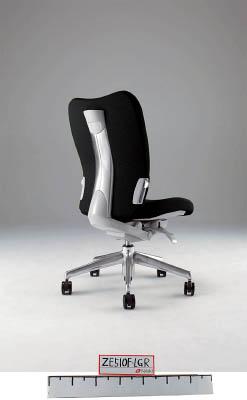 【取寄】【ナイキ】ナイキ ミドルバックチェアー 「エネア」 肘なし 布 ブラック ZE510FBK[ナイキ 椅子オフィス住設用品オフィス家具オフィスチェア]【TN】【TC】