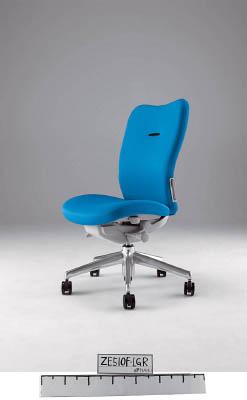【取寄】【ナイキ】ナイキ ミドルバックチェアー 「エネア」 肘なし 布 ライトブルー ZE510FLBL[ナイキ 椅子オフィス住設用品オフィス家具オフィスチェア]【TN】【TC】