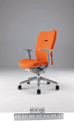 【取寄】【ナイキ】ナイキ ミドルバックチェアー 「エネア」 肘付き 布 オレンジ ZE511FOR[ナイキ 椅子オフィス住設用品オフィス家具オフィスチェア]【TN】【TC】