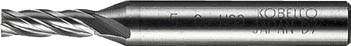 【三菱K】三菱K 4枚刃センターカットエンドミル(Lタイプ) 4LCD2000[三菱K ハイスエンドミル切削工具旋削・フライス加工工具ハイススクエアエンドミル]【TN】【TC】