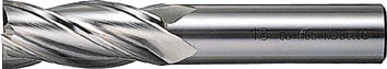 【三菱K】三菱K センターカットエンドミル24.0mm 4MCD2400[三菱K ハイスエンドミル切削工具旋削・フライス加工工具ハイススクエアエンドミル]【TN】【TC】