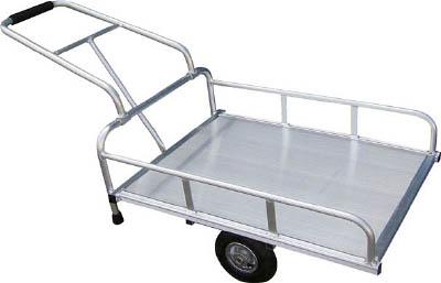 【取寄】【アルミス】アルミス アルミリヤカー 4FT[アルミス 運搬車物流保管用品運搬車輌機器一輪車・リヤカー]【TN】【TC】