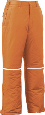 【ジーベック】ジーベック 580580防水防寒パンツ オレンジ M 58082M[ジーベック ウェアオフィス住設用品冷暖対策用品寒さ対策用品]【TN】【TC】