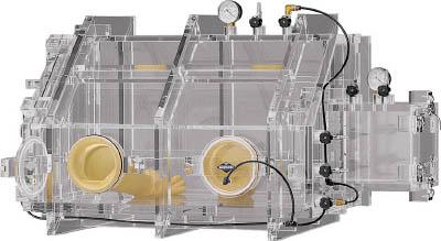 【取寄】【サンプラ】サンプラ 真空グローブボックス VG-800 6590[サンプラ 機器研究管理用品研究機器実験台]【TN】【TC】