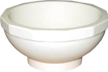 【取寄】【日陶】日陶 アルミナ乳鉢 AL-15 AL15[日陶 乳鉢研究管理用品研究機器粉砕機器]【TN】【TC】