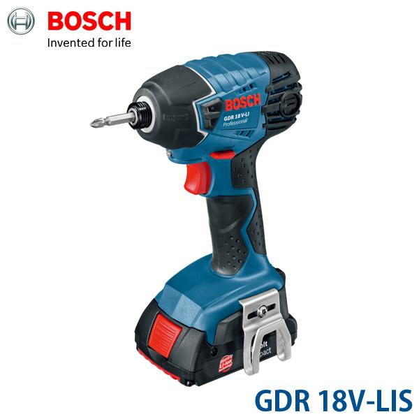[ボッシュ]ボッシュ バッテリーインパクトドライバー GDR 18V-LISボッシュ BOSCH 工具【D】【DA】[作業用品 電動工具・油圧工具 インパクトドライバー ボッシュ(株)]