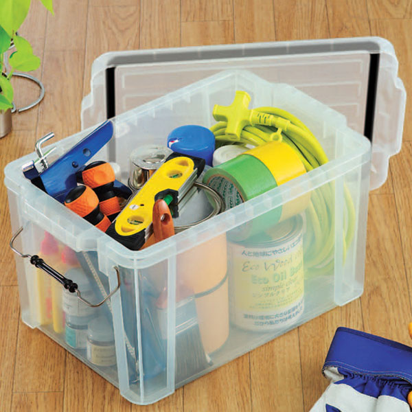Clear Air Container Buckle Mbl 21 3 Series And Can Be Stacked Tool Storage Box Case Toolbox Plastic Toys Bin Toy