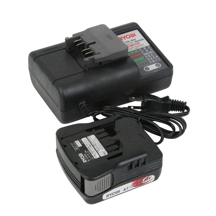電池・充電器セット 6083268送料無料 リチウムイオン電池 充電器 電動工具 アクセサリー 交換 工具 パーツ 部品 RYOBI リョービ 【D】