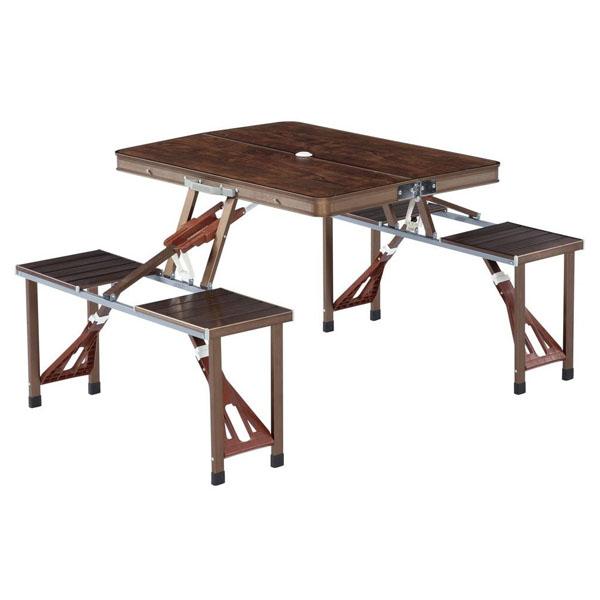 ノースイーグル アルミピクニックテーブル クラシック NE1386アウトドア レジャー キャンプ キャンプ用品 バーベキュー BBQ 海水浴 プール 遠足 ピクニック テーブル